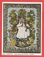 IMAGE Format:13,2 X 9,8 Cm The Tapestry Notre Dame De France London   Voir 2 Photos - Tapis & Tapisserie