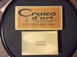 2 BOITES CRAIES D'ART Matériel D'Artiste J.M. PAILLARD. Paris - Autres Collections