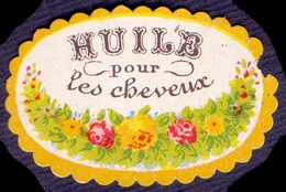 PRINT From J. STERN BERLIN -  HUILE  Pour  Les  CHEVEUX - Cc 1910/15 - Labels