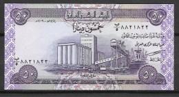 Irak: 50 Dinars, Neuf Sans Pli - Iraq