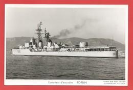 """C.P.A. """" Marine Nationale """" Escorteur D'escadre FORBIN  -Voir 2 Photos - Guerre"""