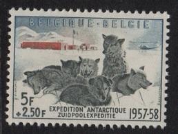 Belgique - N°1031 - Expedition Antarctique Belge 1957-58 - ** Neuf Sans Charniere - Cote 35€ - Neufs