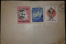 O) 1959 HUNGARY, FARY TALES -SLEEPING BEAUTY, SAILBOAT LAKE BELATON-GREAT EGRET, XF - Hungary
