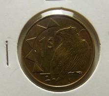 Namibia 1 Dollar 1993 Varnished - Namibie