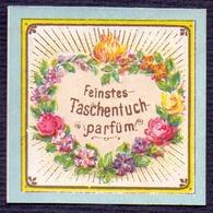 PRINT From J. STERN BERLIN - FEINSTES  TASCHENTUCH  PARFUN - Cc 1910/15 - Labels