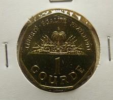 Haiti 1 Gourde 1995 Varnished - Haïti