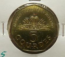 Haiti 5 Gourdes 1995 Varnished - Haïti