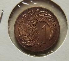 New Zealand 1 Cent 1988 Varnished - Nouvelle-Zélande