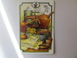 Calendrier 2003 Format Poche - Calendrier Pot D' Apothicaire Salsifis Sauvage En 3 Volet Conseil Pour La Peau - Calendars