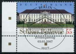 BRD 2007 Nr 2601 ESST Zentrisch Gestempelt ECKE-ULI X84A5DA - [7] République Fédérale