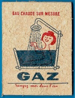 """Eponge Publicitaire """"trempez Moi Dans L'eau"""" GAZ Eau Chaude Sur Mesure ** Pub Publicité - Publicité"""