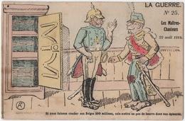 MILITARIA 14-18 LA GUERRE.CARICATURE. LES MAITRES-CHANTEURS.1914. - Guerre 1914-18