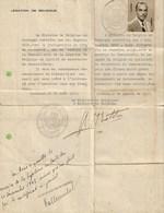Belgique - Passeport, 1943 - Passport - Old Paper