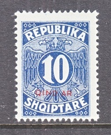 ALBANIA   J 31   ** - Albanie
