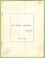 Viseu - Reunião Do Curso Do Liceu De Viseu 1936-1946 - Ementa - Menu - Menus
