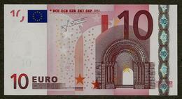 Portugal - 10 Euro - U006 F4 - M23466573526 - Trichet - UNC - EURO