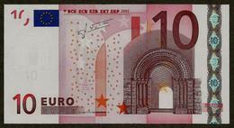 Portugal - 10 Euro - U005 A1 - M23369637433 - Trichet - UNC - EURO