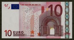 Portugal - 10 Euro - U004 D3 - M22763370901 - Trichet - UNC - EURO