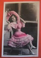 BACHA Danseuse Chanteuse Café Concert Artiste  Femme Photo REUTLINGER - Artistes