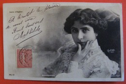 BEAUREGARD Casino D'Enghien Artiste  Femme Photo REUTLINGER - Artistes