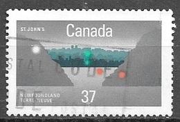 1988 37 Cents St. John's, Used - 1952-.... Reign Of Elizabeth II