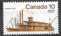 1976 Ships, Northcote, 10 Cents, Used - 1952-.... Reign Of Elizabeth II