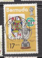 ##28, Bermudes, Bermuda, Bridge, Cartes à Jouer, Playing Cards, Trophée, Trophy, Coeur, Heart, Élizabeth II - Bermudes