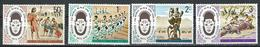 KUT. Scott # 316-19 MNH. 2nd. Festival Of African Culture. Joint Issue With Kenya & Tanzania 1977 - Joint Issues