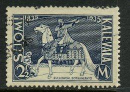 Finland 1935 2m Kullervo Issue #208 - Finland