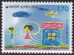 South Korea KPCC1571 8th World Water Day, Children's Drawing - Protection De L'environnement & Climat