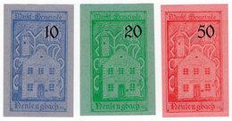 Austria, Neulengbach (Niederösterreich) Notgeld 10, 20, 50 Heller - Autriche
