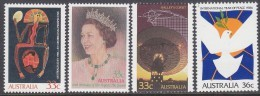 AUSTRALIA, 1986 SINGLE ISSUES 4 MNH - 1980-89 Elizabeth II