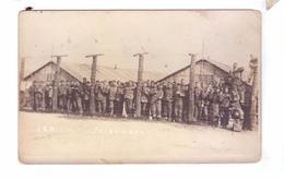 Guerre 14 18 WW1 Soldats Americains Carte Photo Prisoniers Allemands Co 140 Th Inf  German Prisoners - Guerre 1914-18
