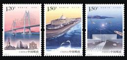 "China 2018-31 ""The Hong Kong-Zhuhai-Macao Bridge"" Stamps.Original,Complete Set,MNH,VF - 1949 - ... Volksrepublik"