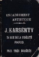 PARIS ALBUM PARIS GOUSSET A L ENSEIGNE J. KARSENTY ENCADREMENT - Dépliants Touristiques