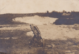 MORTIER ALLEMAND 76 MM CARTE PHOTO - Guerre 1914-18