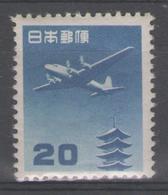 JAPON:  PA.n°23 * (propre)         - Cote 80€ - - Poste Aérienne