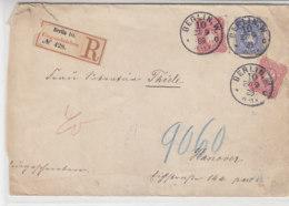 R-Brief Aus BERLIN W. 10 27.9.89 Nach Han(n)over - Deutschland