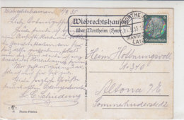 LANDPOST Wiebrechtshausen über Northeim .. 14.9.35 AK-Northeim Schaupenstiel - Briefe U. Dokumente