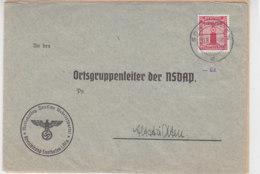 2 Dienstbriefe Aus SONTHOFEN 1940 + 1941 - Allemagne