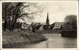 Cp Saarlouis Im Saarland, Blick Von Der Saar Auf Die Ortschaft - Germany