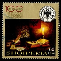 Albanie - Albania - Albanien 2016 Y&T N°(2) - Michel N°(?) (o) - 100 L Commission Littéraire - Albanie