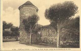 5425 CPA Pont Sur Yonne - La Tour Du Nord - Pont Sur Yonne