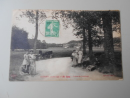 AUBE LUSIGNY ROUTE DE LARRIVOUR - France