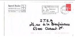FLAMME MUSEE VIVANT DU PAPIER AMBERT PUY DE DOME 2005 - Oblitérations Mécaniques (flammes)