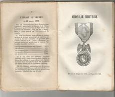 PRECIS SUR LES ORDRES DE CHEVALERIE FRANCAIS ET DES DECORATIONS EN GENERAL 1858 - Militaria