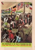 1990 New Zealand Treaty Of Waitangi Minisheet Mint Not Hinged S.G. No. MS 1540 - Neufs