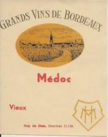 GRANDS VINS DE BORDEAUX MEDOC  HM  (1) - Bordeaux