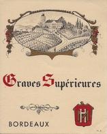 BORDEAUX  GRAVES SUPERIEURES  HM  (1) - Bordeaux