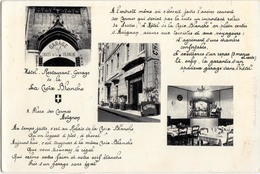 AVIGNON-HOTEL RESTAURANT DE LA CROIX BLANCHE - Avignon